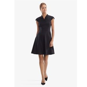 MM Lafleur the Ruth Dress in Black Size 6